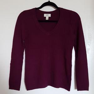Ann Taylor Loft cashmere sweater - like new!